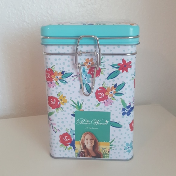 The Pioneer Woman Locktop Canister Boutique